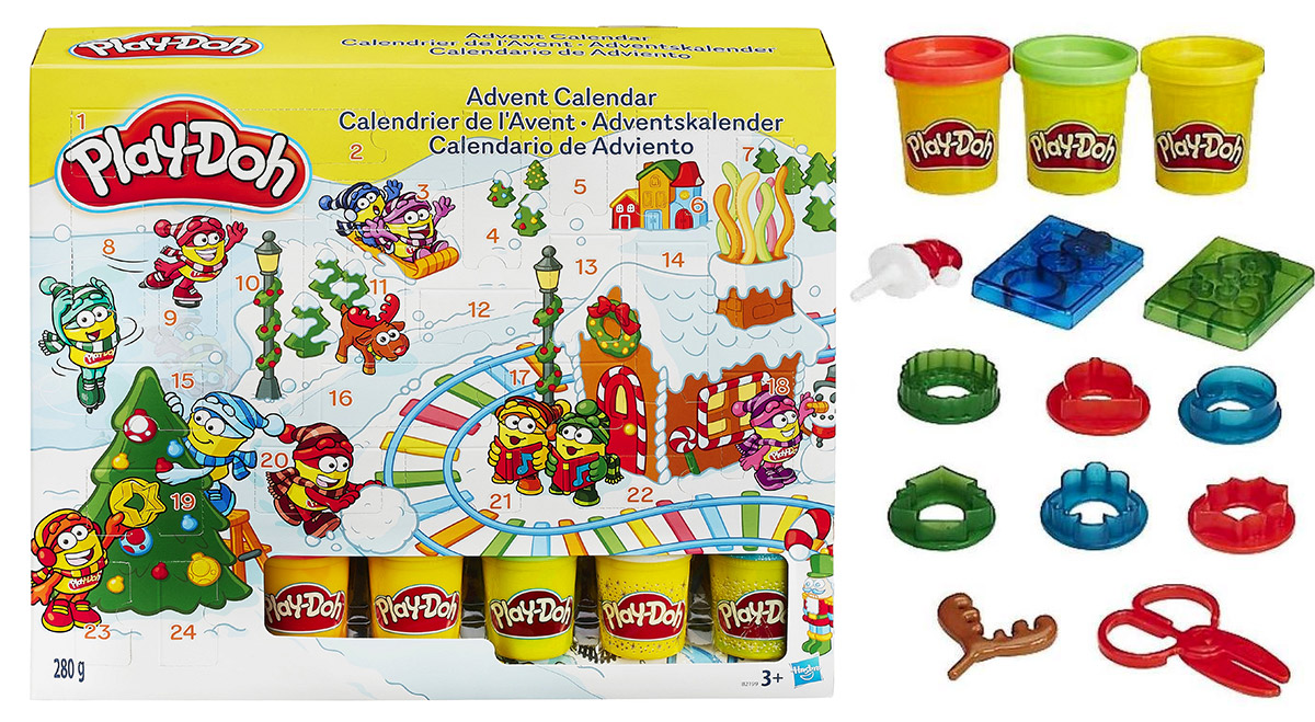 calendrier avent 2018 playdoh