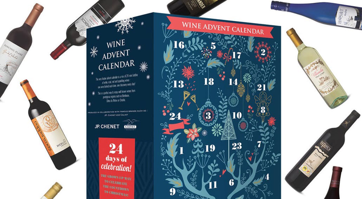 calendrier avent 201 vin