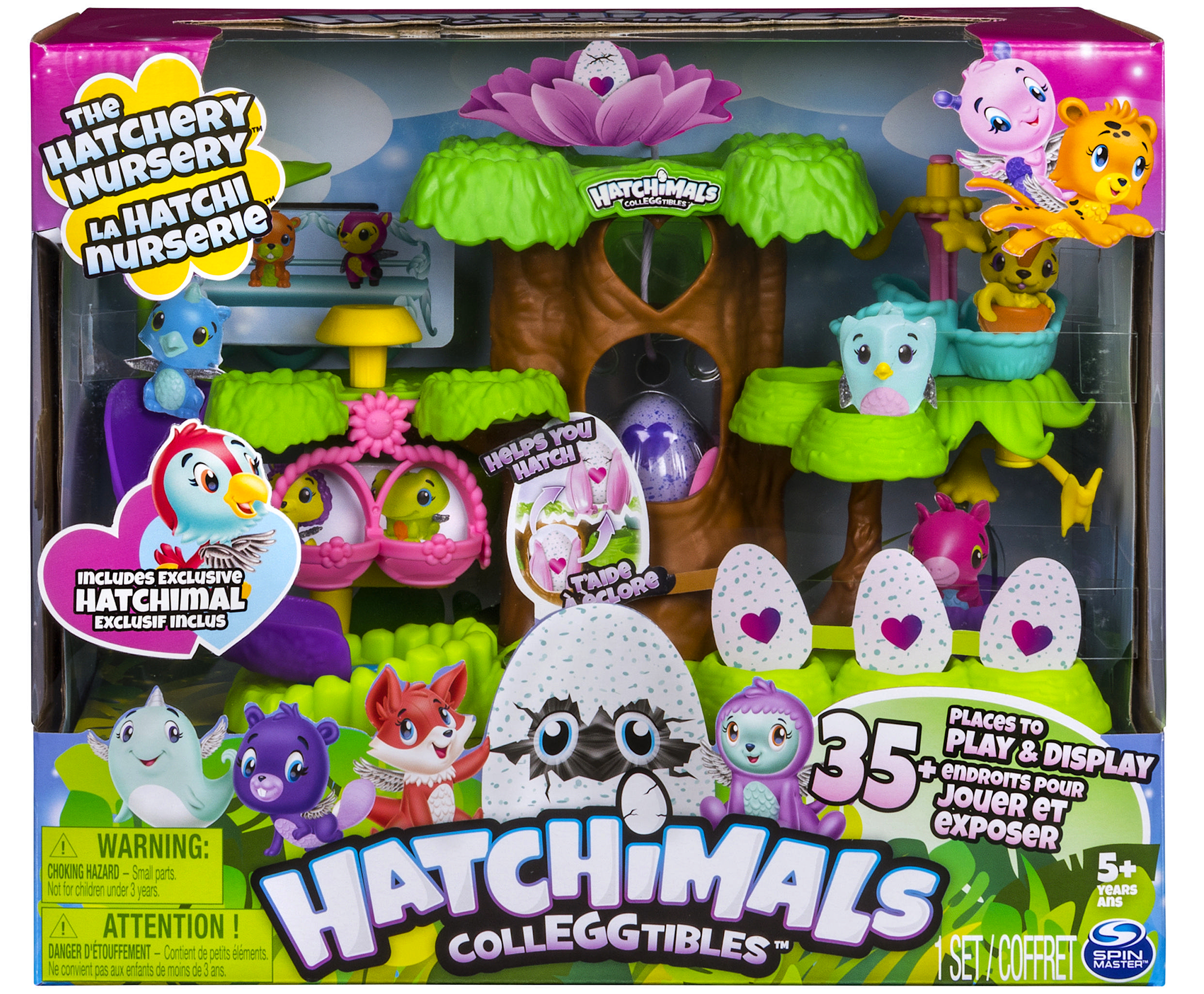 hatchimals colleggtibles nurserie