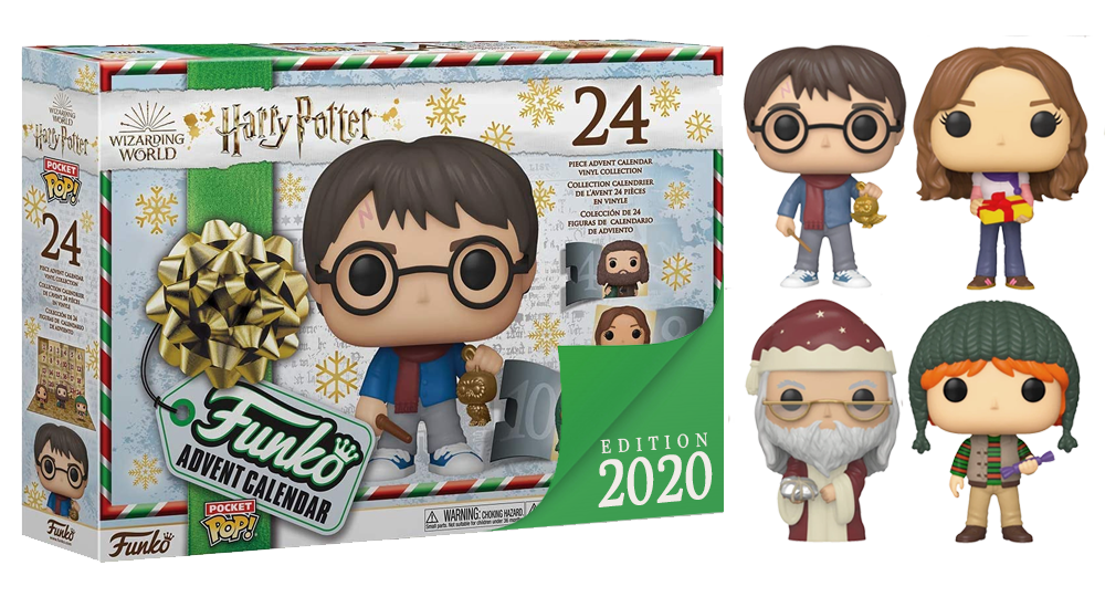 calendrier de lavent harry potter funko pop 2020